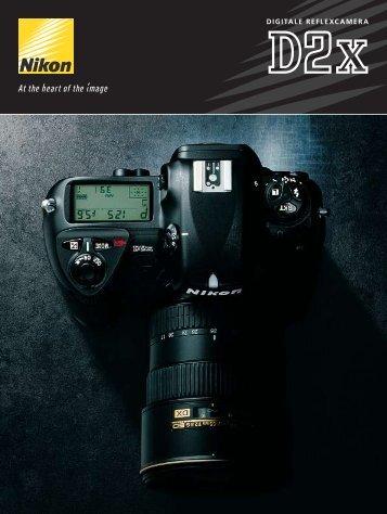 DIGITALE REFLEXCAMERA - Nikon