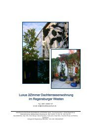 Luxus2 - Zimmer Dachterrassenwohnung i mRegensburgerWesten ...