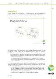 Hvad er SIP? - Dansk kvalitetsmodel på det sociale område