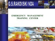 Emergency management/civil protection