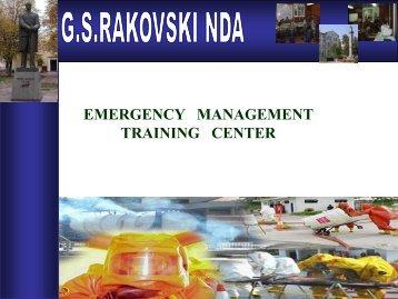 Emergency management/civil protection