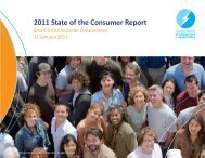 2011 State of the Consumer rpt - Global Buyers' Cooperative Networks