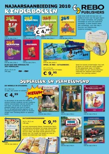 Najaarsaanbieding 2010 - Kinderen - Rebo Publishers