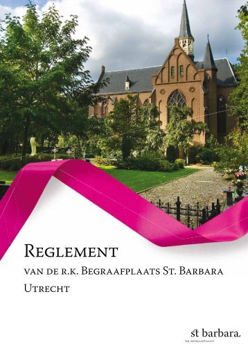 Reglement download pdf - RK Begraafplaats St. Barbara