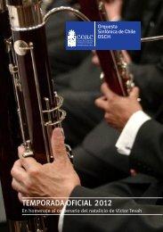 Programa_OSCH_4_2012 - Teatro Universidad de Chile