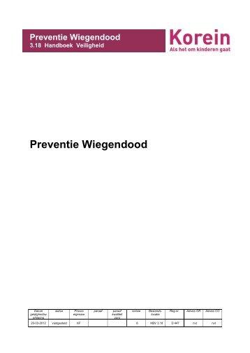 Preventie wiegendood.pdf - Korein Kinderplein