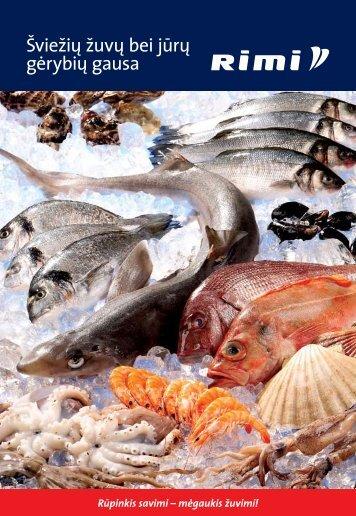 norėdami atsisiųsti žuvies bei jūrų gėrybių katalogą, spauskite ... - Rimi