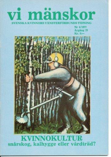 1977/4 - Vi Mänskor