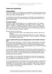 Underviservejledning - Grafisk BAR - Grafisk Branchearbejdsmiljøråd