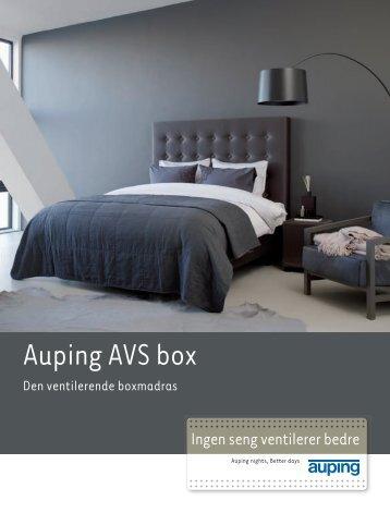 Auping AVS box