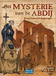 Mysterie van de Abdij - Days of Wonder