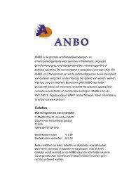 Wat te regelen na overlijden - Anbo