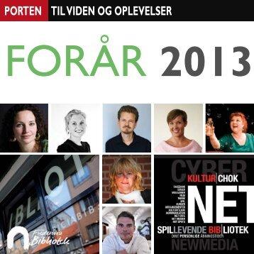 Program forår 2013.indd - Fredericia Bibliotek