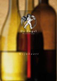 Wijnkaart - De Engel