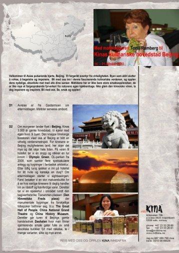 Program - Mitt Kina : Startside