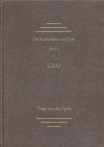 Uru Kroniek - All Things Uru