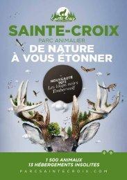 1 500 animaux 13 hébergements insolites - Parc Animalier de ...