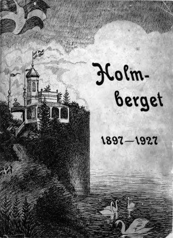 Georg Nyström Holmberg 1927