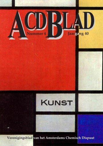 ACDBlADJaargang 40 Nummer 4 - Amsterdams Chemisch Dispuut