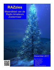 December - de PI4RAZ website