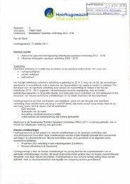 RB2011095 beleidsplan openbare verlichting 2011 - Gemeente ...