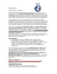 informatiebrief D-kamp Vierhouten 2012 - Klein Zwitserland