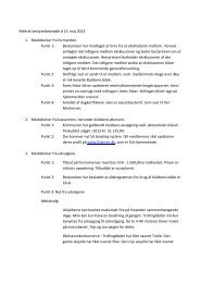 Referat for bestyrelsesmøde d. 15/03 2013