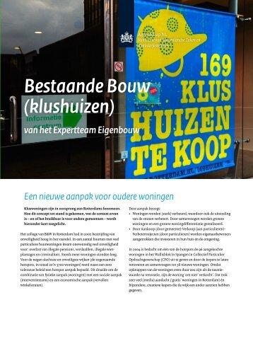 Bestaande Bouw (klushuizen) - Caos
