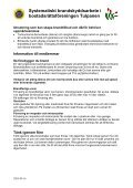 Systematiskt Brandskyddsarbete Brf Tulpanen - Page 2