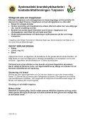 Systematiskt Brandskyddsarbete Brf Tulpanen - Page 3