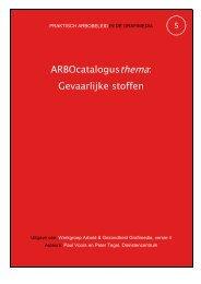 ARBOcatalogusthema: Gevaarlijke stoffen - Arbografimedia.nl