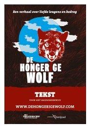 tekst tekst - de Hongerige wolf
