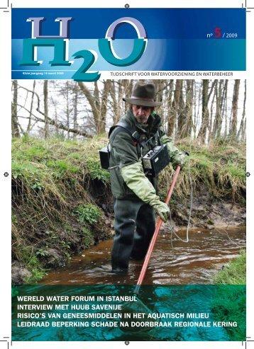 Inhoud H2O nummer 5, maart 2009 - H2O - Tijdschrift voor ...