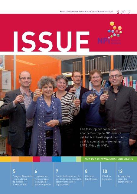 Issue 2, 2012 - Nederlands Paramedisch Instituut