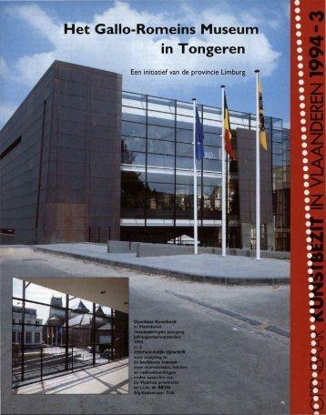 Het Gallo-Rorneins Museum in Tongeren - Tento.be