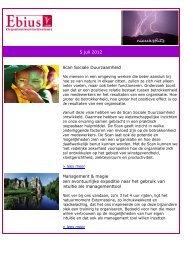 5 juli 2012 Scan Sociale Duurzaamheid Management ... - Ebius