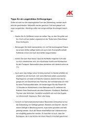 Tipps für ein ungetrübtes Grillvergnügen (pdf/99 kb