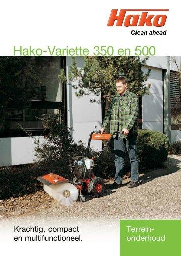 Hako-Variette 350 en 500