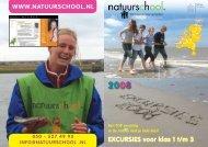 EXCURSIES voor klas 1 t/m 3 - de Natuurschool