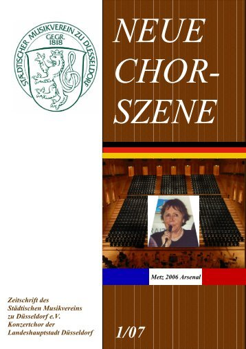 NeueChorszene 05 - Ausgabe 1/2007