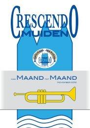 Uitgave november 2012 - Muziekvereniging Crescendo Muiden