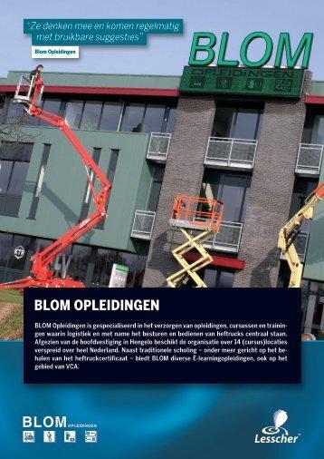 BLOM OPLEIDINGEN - Lesscher IT