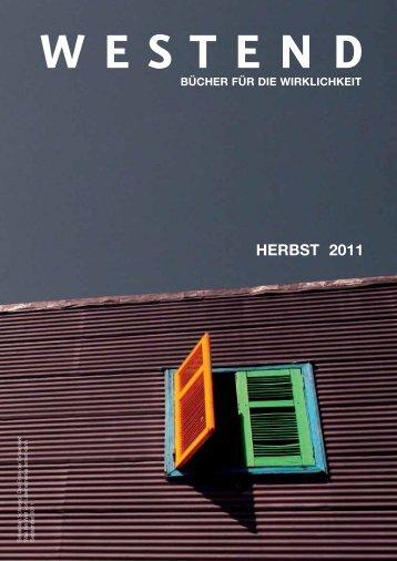 Erscheinungstermin - Westend Verlag