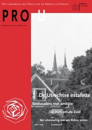 De Utrechtse estafette - PvdA Utrecht