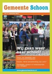 Wat kun je betekenen voor een school? - Schoner Nederland