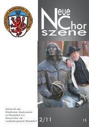 NeueChorszene 15 - Ausgabe 2/2011
