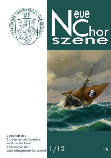 NeueChorszene 16 - Ausgabe 1/2012