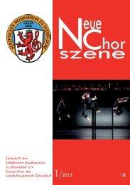 NeueChorszene 18 - Ausgabe 1/2013