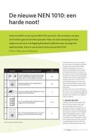 De nieuwe NEN 1010: een harde noot! - Elektroraad