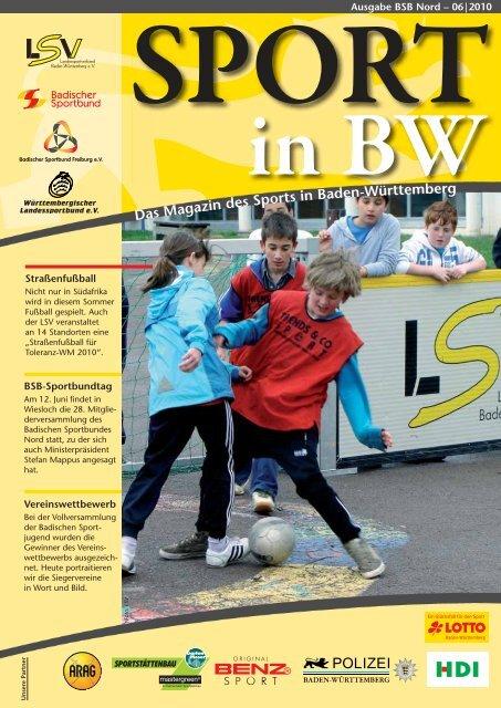 Sport in bw Nr. 06/10 - Badischer Sportbund Nord ev